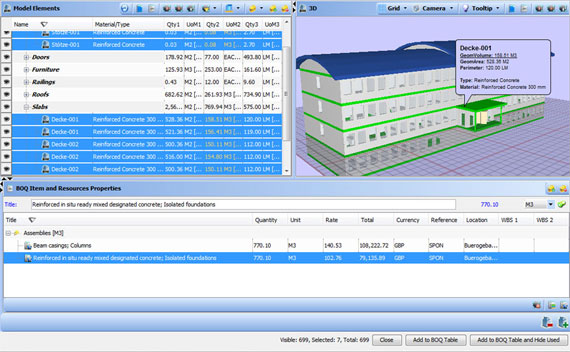 BIM Estimating